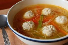 S6. Asian Meatball Noodle soup