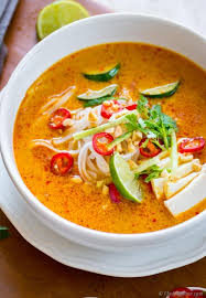 S8. Laksa curry noodle soup (malayasia)