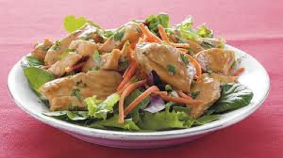 ES6. Satay Chicken salad