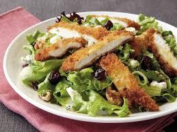 ES7. Crumbed chicken salad