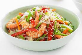 ES9. Prawn Salad with vermicelli