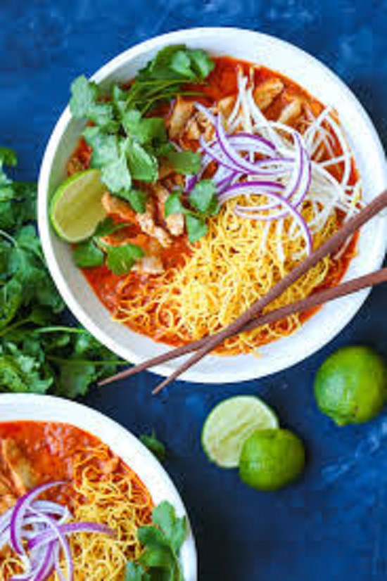 S7, Khao Soi Coconut curry noodle soup