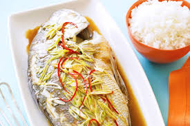 CH07. Steamed whole snapper with ginger