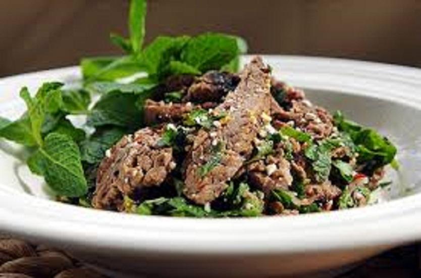 SF11. Nam Tok Beef Salad (Thai)