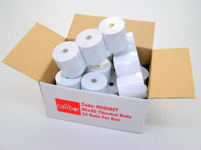 24 Receipt Paper Rolls Picture
