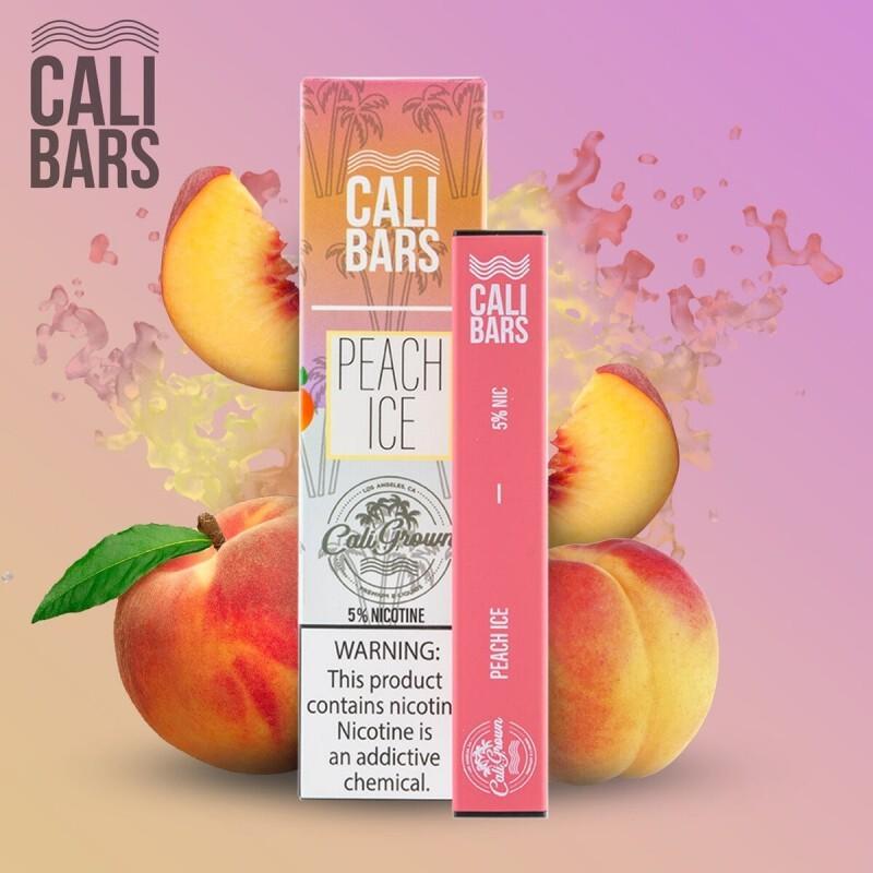 Cali Grown - Calibar Disposable Peach Ice