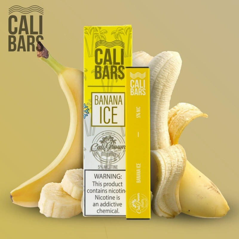 Cali Grown - Calibar Disposable Banana Ice