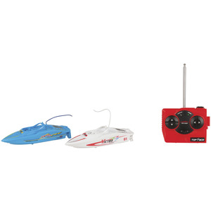 1:58 R/C BOAT TWIN PACK WITH INFLATABLE POOL