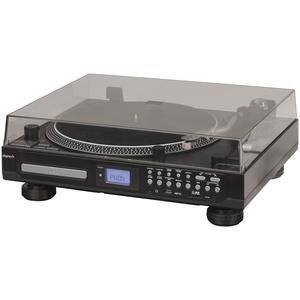 PLAYER TURNTABLE CD FM USB/SD