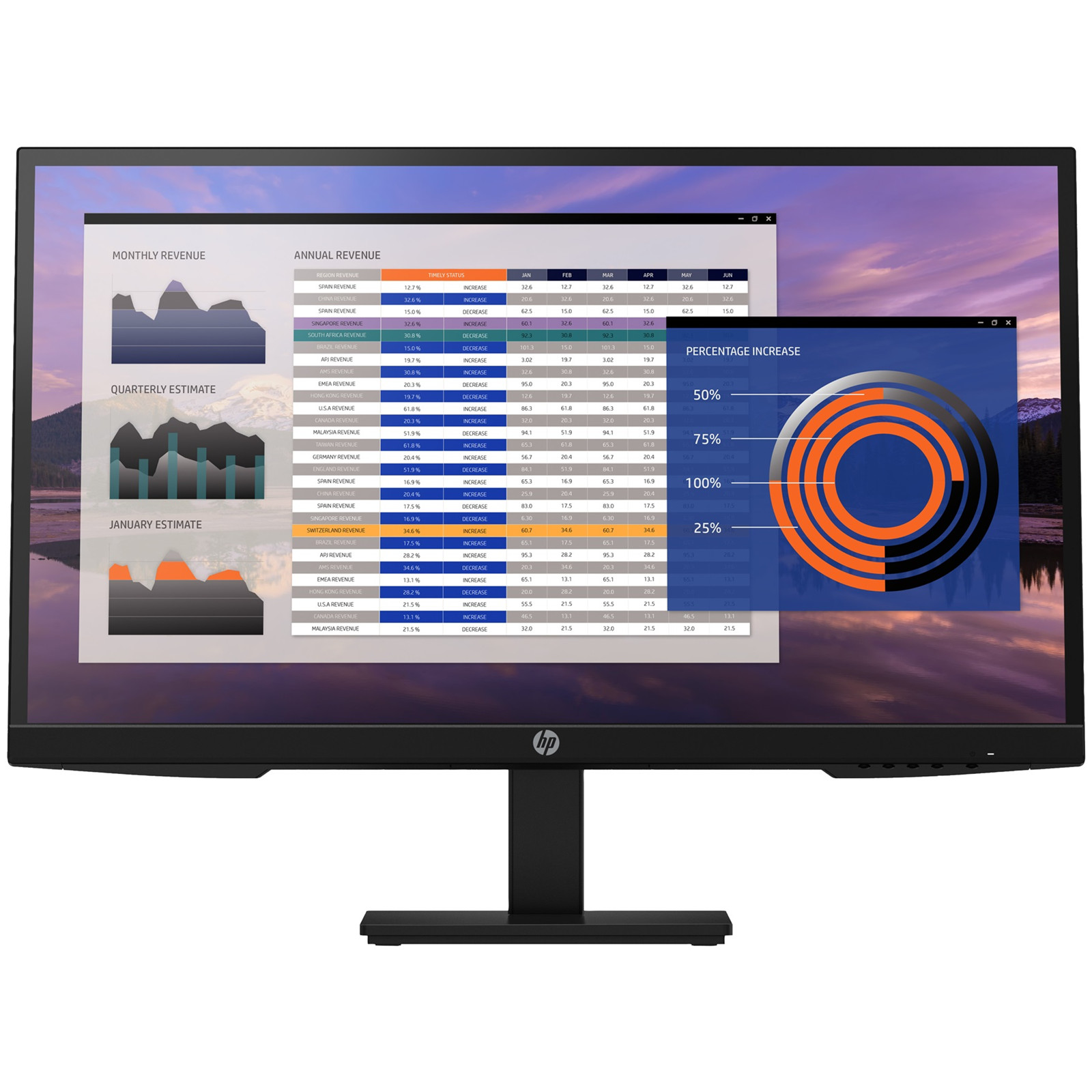 """HP 27"""" HEIGHT ADJUST BUSNIESS MONITOR - SPECIAL"""