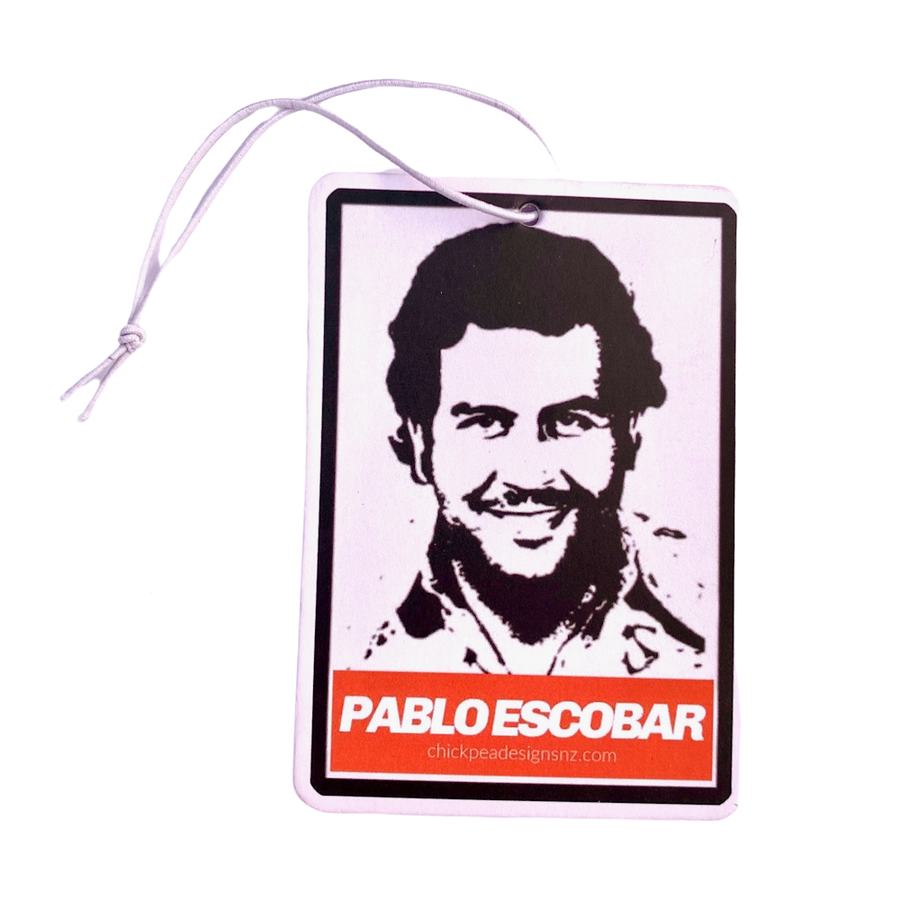 Pablo Escobar Air Freshener (Coca Cola)