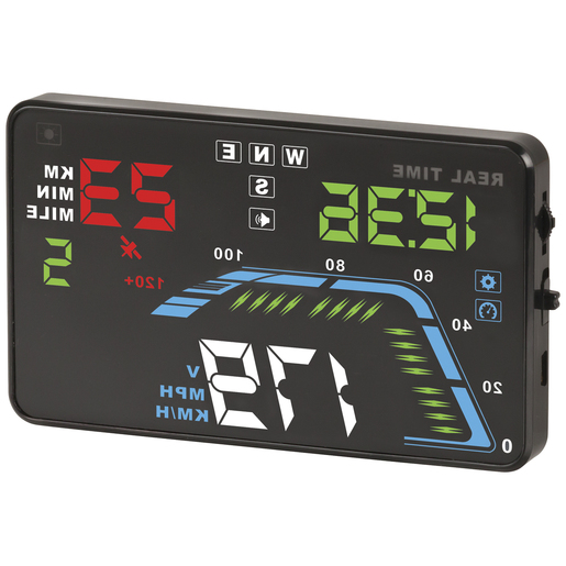 DISPLAY HEAD-UP GPS 5.5IN 12/24VDC