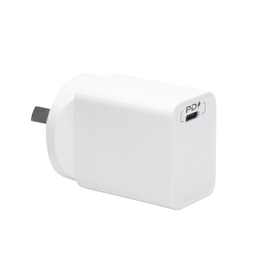 18W PD TYPE-C SINGLE PORT USB WALL CHARGER