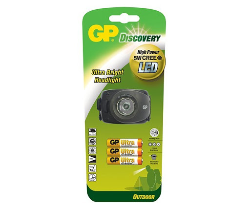 GP DISCOVERY HEAD TORCH