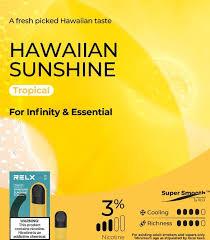 Relx Infinity Hawaiian Sunshine 3% Pod 1pk
