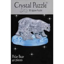 Crystal Puzzle 3D Polar Bear