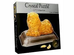 Crystal Puzzle 3D Lion