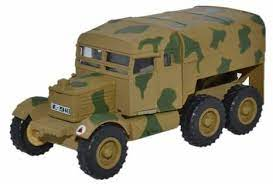 Oxford 1:76 Scammell Pioneer Artillery Tractor