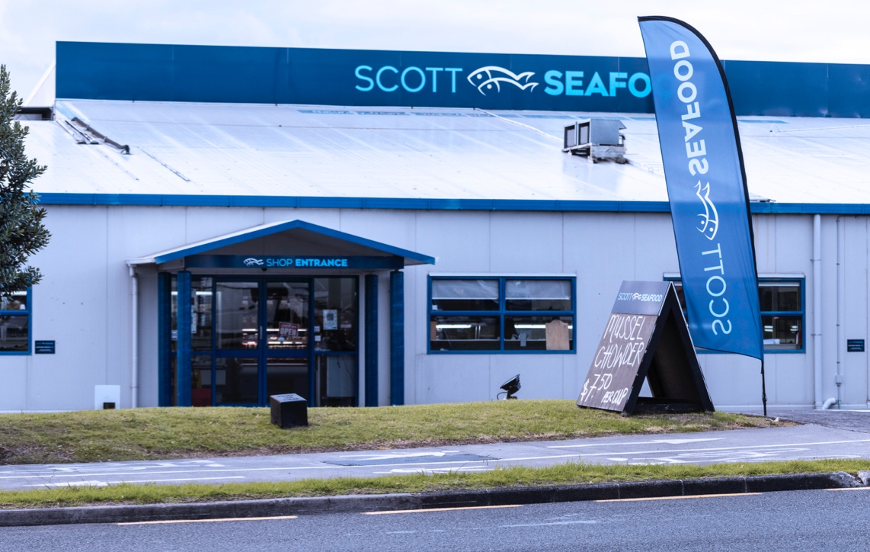 Scott Seafood Retail Store