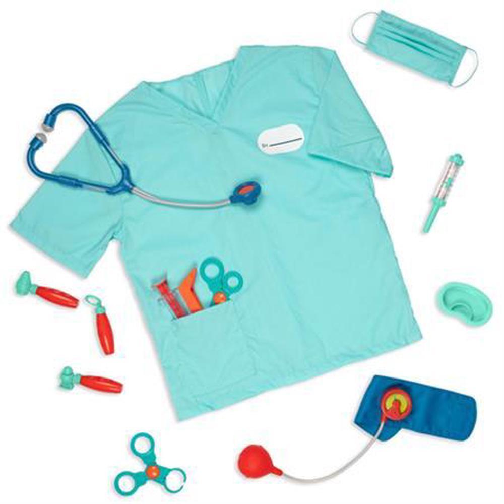 Battat deluxe doctor set w/ scrubs