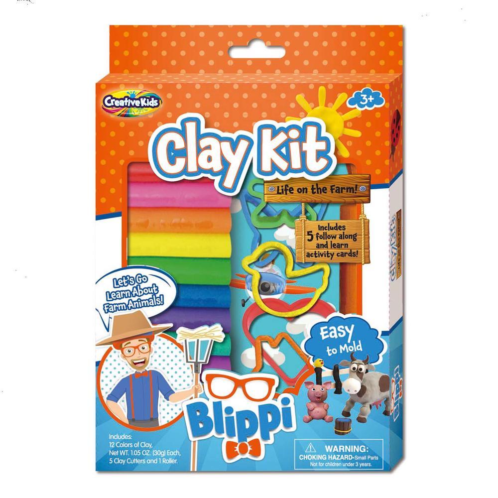 Blippi clay set