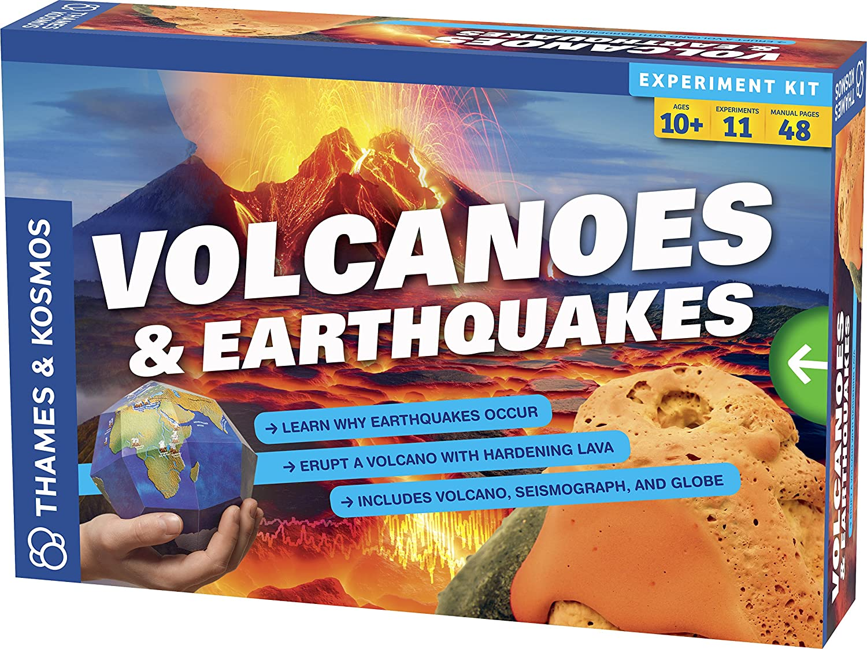 Volcanoes & earthquakes experiment kit