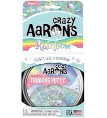 Aarons Thinking Putty 10 cm Rainbow