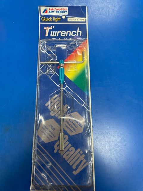 ABC Hobby T-Wrench 4.0mm Hex Socket