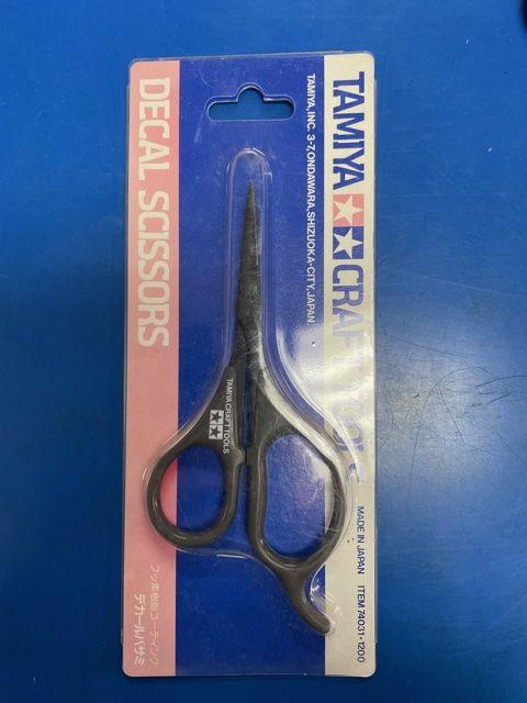 Tamiya Decal Scissors
