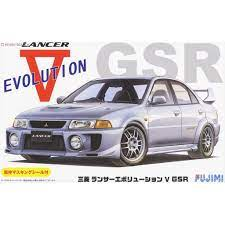 Fujimi 1:24 Mitsubishi Lancer V Evolution GSR