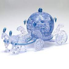 Crystal Puzzle 3D Royal Carriage