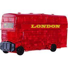Crystal Puzzle 3D London Bus