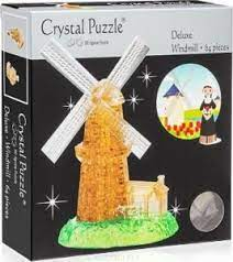 Crystal Puzzle 3D Deluxe Windmill