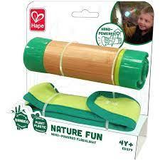 Hape Nature Fun Hand Powered Flashlight