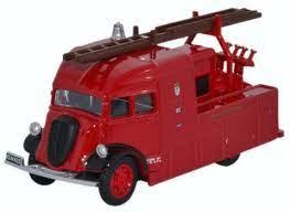 Oxford 1:76 Fire Fordson Heavy Pump Unit London Fire Brigade