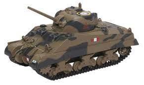 Oxford  Sherman Tank MK111 Royal Scots