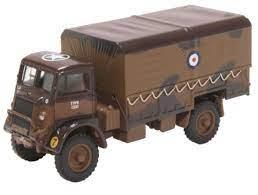 Oxford Military 1:76 Bedford QLD RAF