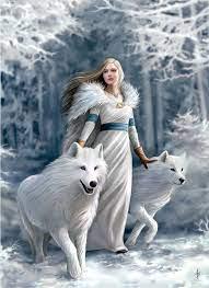 Anne Stokes 1000pc Winter Guardians