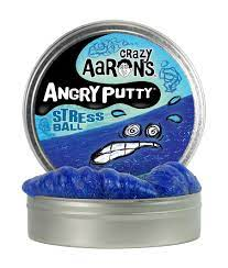 Aarons Thinking Putty 10cm Angry Putty- Stress Ball