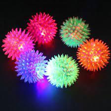 Spikey Light up balls