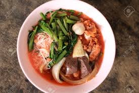 S3. Tom Yum with Flat noodle and .......