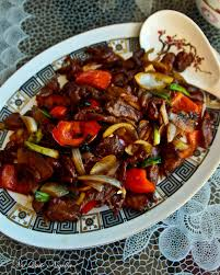 ch08 Beef stir fry with Black bean sauce