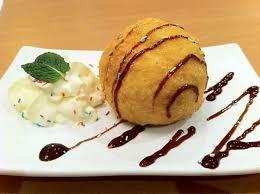 D8. Deep fried Ice cream Balls [2]