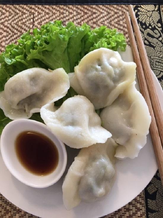 E D4. Dumplings - Vegetarian [5]