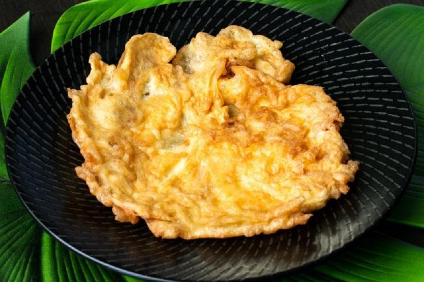 X2.Thai Style (3) Egg Omelette